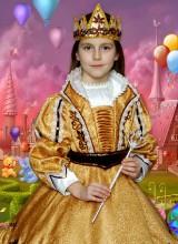 Костюм Королева осень (5-8 лет)