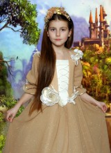 Костюм Принцесса осени (7-10 лет)