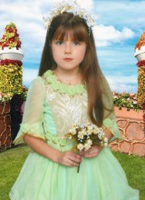 Бальное платье (6-10 лет)