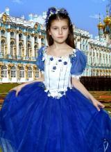 Бальное платье (6-8 лет)