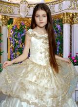 Бальное платье (8-12 лет)