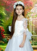 Бальное платье (5-9 лет)