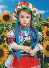 Костюм украиночки (3-12 лет)