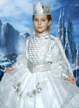 Костюм Снежной королевы (5-11 лет)