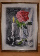 4000 грн. чешский бисер,(65 тыс. бисеринок)50х65 см. рамка. Есть другие очень красивые  картины !0934153124