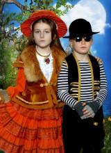 Лиса Алиса и Кот Базилио (3-10 лет)