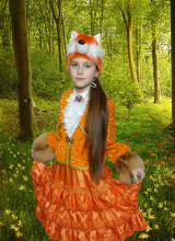 Костюм Лисичка (3-8 лет)