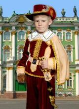 Костюм Кот в сапогах (3-11 лет)